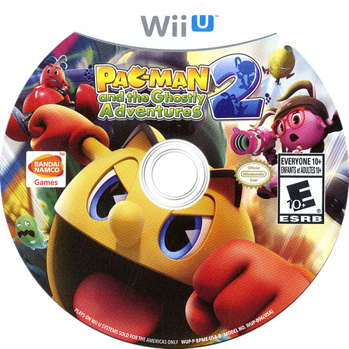 Pac-Man and the Ghostly Adventures 2 WiiU discM (BPMEAF)