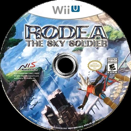 Rodea the Sky Soldier WiiU discM (BRDENS)