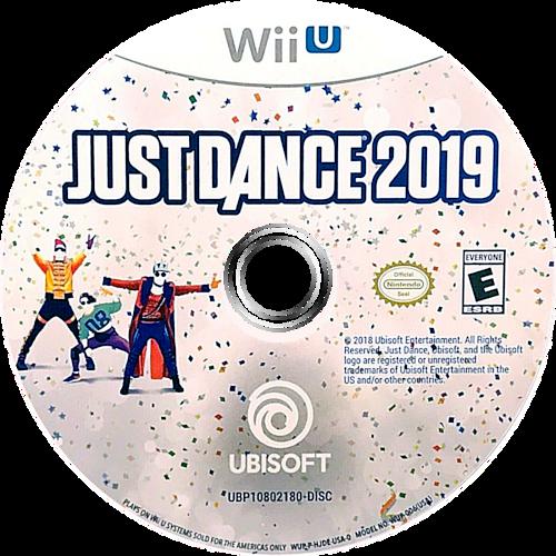 Just Dance 2019 WiiU discM (HJDE41)