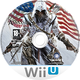 Assassin's Creed III WiiU disc (ASSP41)