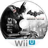 Batman Arkham City: Armored Edition WiiU disc (ABTEWR)