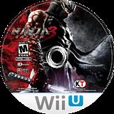 Ninja Gaiden 3: Razor's Edge WiiU disc (ANGE01)