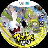 Rabbids Land WiiU disc (ARBE41)