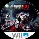ZombiU WiiU disc (AZUE41)