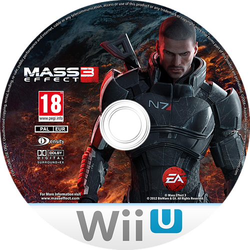 Mass Effect 3 - Special Edition WiiU disccustomM (AMEP69)