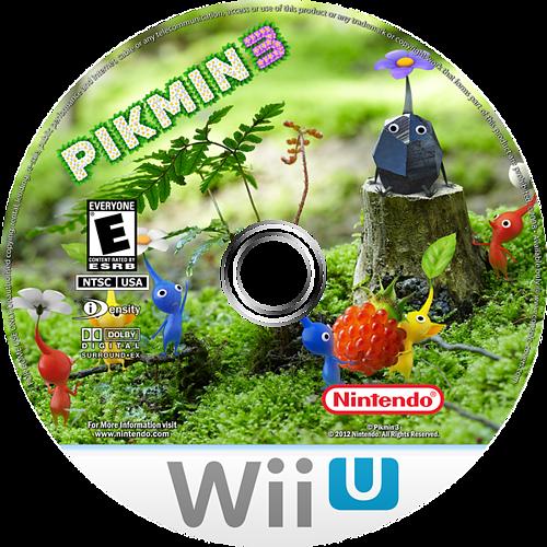 Pikmin 3 WiiU disccustomM (AC3E01)