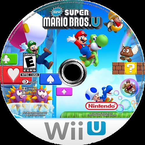 New Super Mario Bros. U WiiU disccustomM (ARPE01)